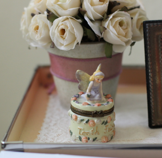 Walking with Cake: Tooth Fairy jar