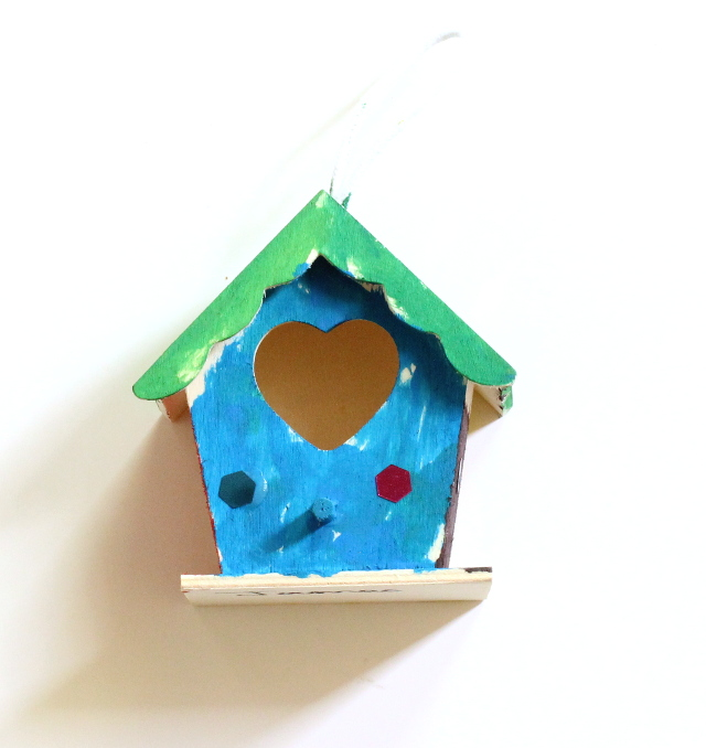 Walking with Cake: Birdhouse