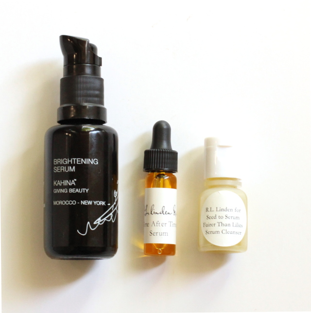 Walking with Cake: Serums