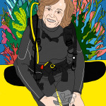 (Sylvia Earle by Elizabeth Stilwell.)