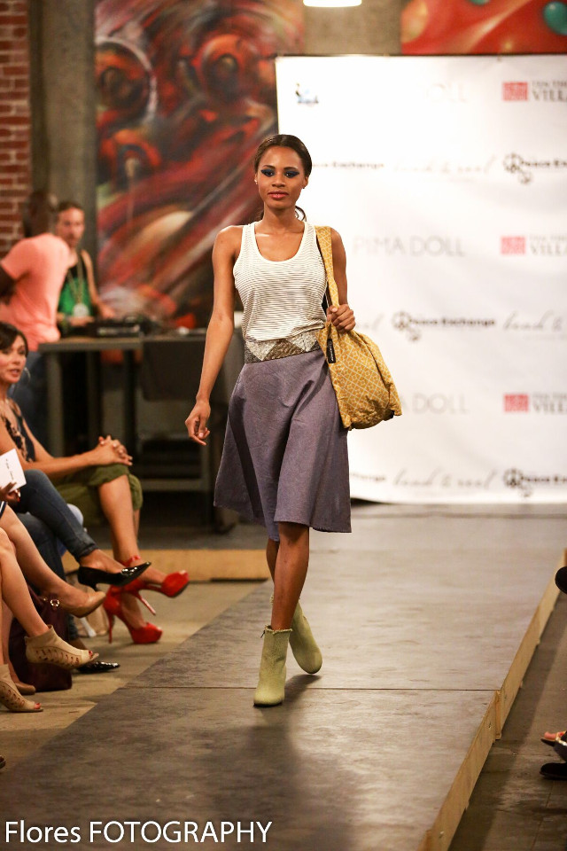 Walking with Cake: Bead & Reel Fashion Show