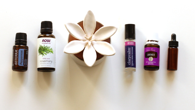Walking with Cake: Essential oils and natural diffuser