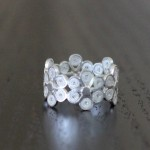 Walking with Cake: Daisy Ring by Olmox Fine Filigree Jewelry