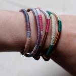 Walking with Cake: wrapped bracelet9 by Jen