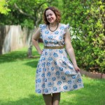 Walking with Cake: Frida Loves Diego Dress by Mata Traders view 2