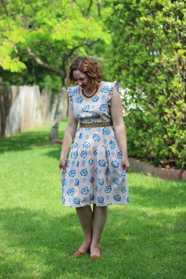 Walking with Cake: Frida Loves Diego dress by Mata Traders
