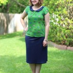 Walking with Cake: Pima Organic Skirt by Fair Indigo