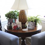 Walking with Cake: New side table