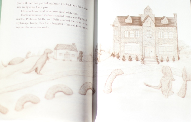 Walking with Cake: Page from Oddfellow's Orphanage by Emily Winfield Martin