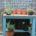 Walking with Cake: My turquoise table