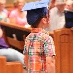(James graduated from preschool this week!)