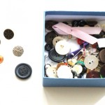 (My box of buttons.)