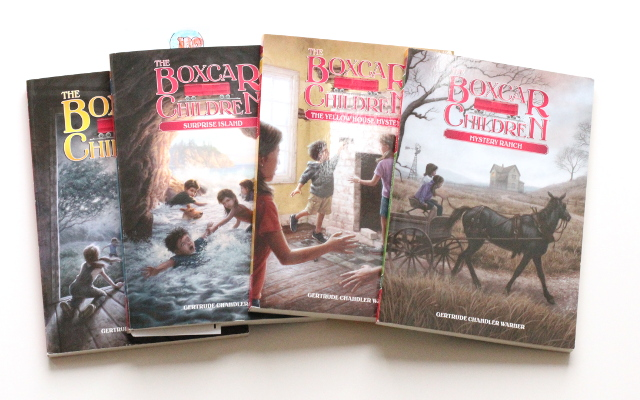 Walking with Cake: The Boxcar Children Books 1-4