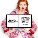(Model Greta Danisova photographed by Rachel Manns for Fashion Revolution.)