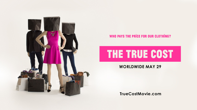 Walking with Cake: The True Cost Promo Poster