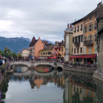 (Poor Ryan went to Annecy, France for work.)