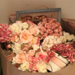 (So many faux flowers!)