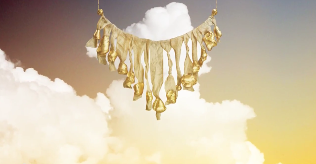 Walking with Cake: Make Wilde Sand Swept Statement Necklace