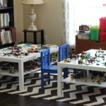 (Our formal living room has become the Lego room.)