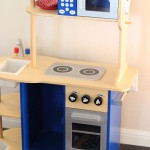 (I gave away my boys' old play kitchen via Nextdoor.com.)