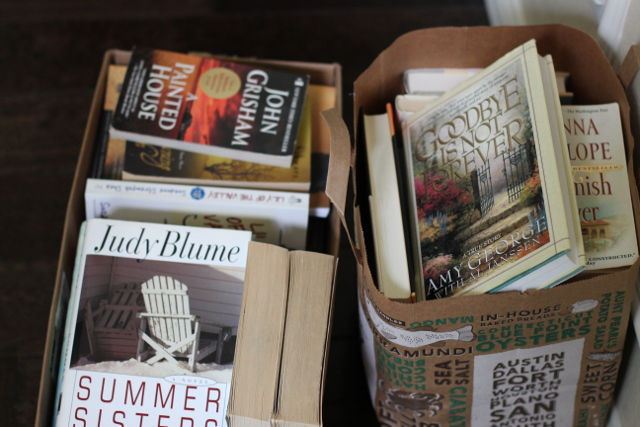 Walking with Cake: Donation books