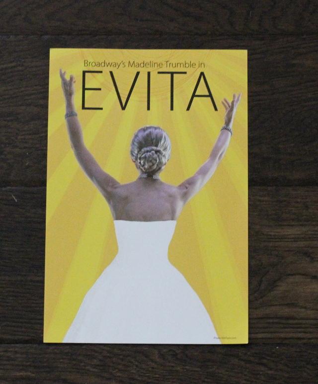 Walking with Cake: Evita Flyer