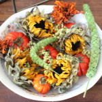 (Dried fall flowers from a recent bouquet.)