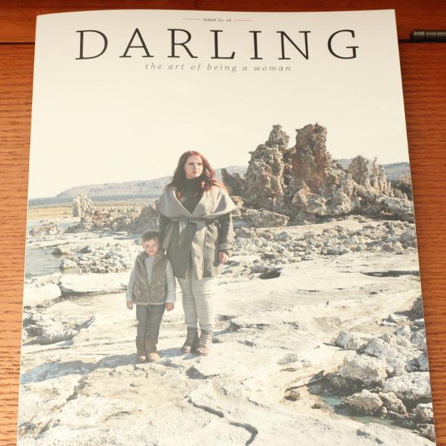 Walking with Cake: Darling Magazine