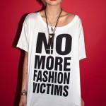 (Pixie Geldof wearing a Katharine Hamnett t-shirt.)