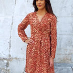 Walking with Cake: Passion Lilie Country Red Wrap Dress