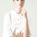 Walking with Cake: Rakha Holly White Shirt