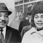 (Dr. Martin Luther King, Jr. and Coretta Scott King, 1963. Photo by Herman Hiller, public domain image via Wikimedia.)