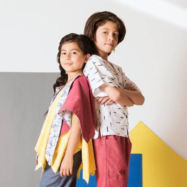 Walking with Cake: Jake and Maya, Slow Fashion for Fast Growing Kids